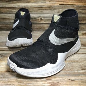 Nike Zoom HyperRev Black Basketball Shoes Men 14.5